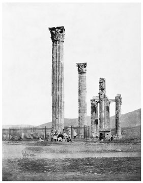 Photo: James Robertson: The temple of Olympian Zeus