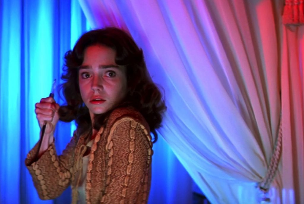 A scene from the film Suspiria